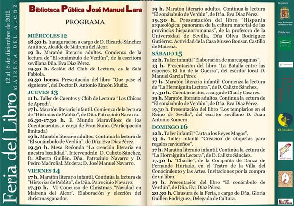 Programa_Feria_del_Libro_2012-Mairena_del_Alcor