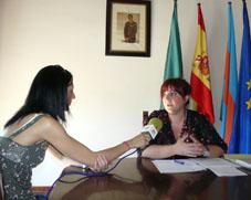 María José Daza en canal 12