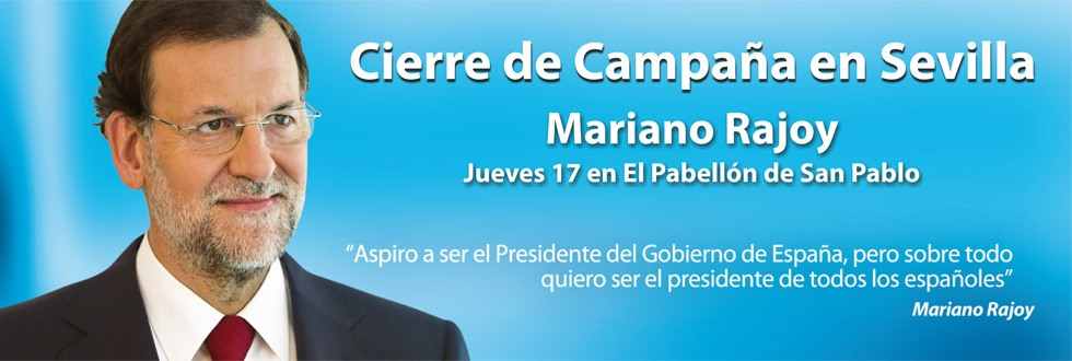 Rajoy en Sevilla