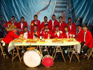 Chirigota «La Juventud del PaPa Frita»  (Los jartibles)
