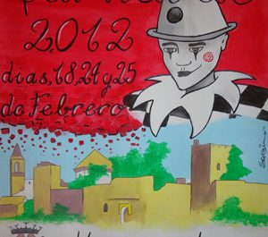 Cartel 'Carnaval de Mairena del Alcor 2012'