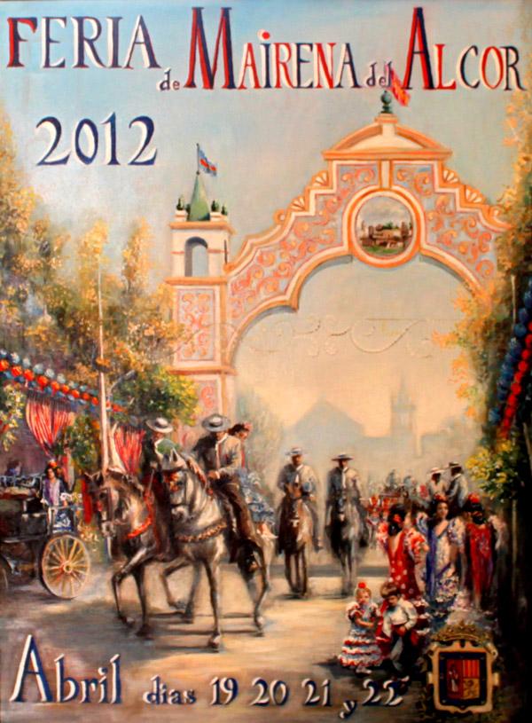 Cartel Feria Mairena del Alcor 2012