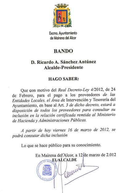 Bando-16-03-2012 RD 4/2012
