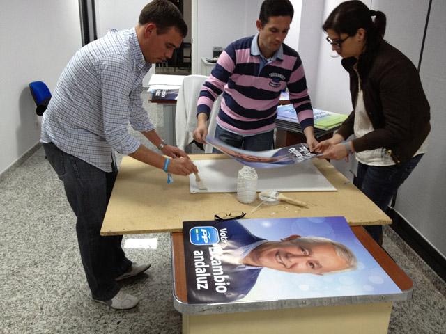 Elecciones 25M Carteles Campaña Electoral
