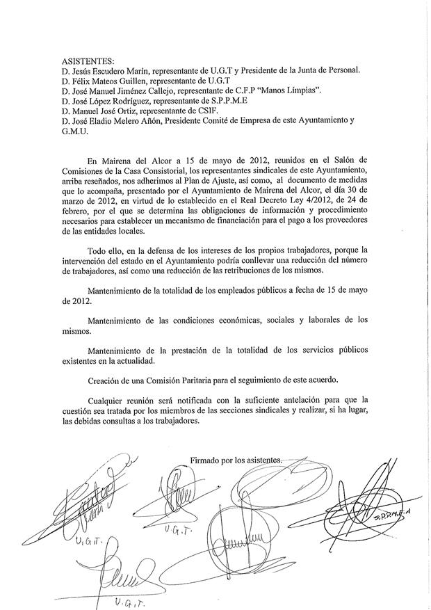 Adhesión_sindicatos_Mairena_Plan_Ajuste