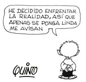 Enfrentarse a la Realidad by Quino