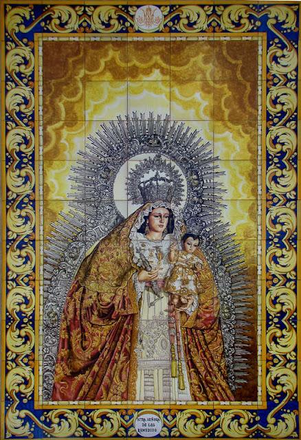 NUESTRA SEÑORA DE LOS REMEDIOS CORONADA, PATRONA DE MAIRENA DEL ALCOR.