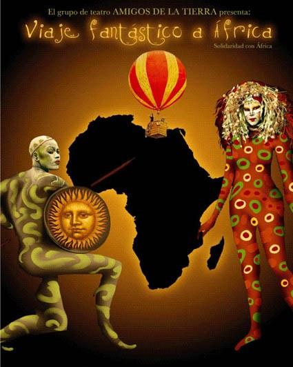 """""""Viaje fantástico a África"""" del grupo de teatro Amigos de la Tierra"""