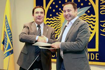 Ricardo Sánchez y Vicente Guzmán
