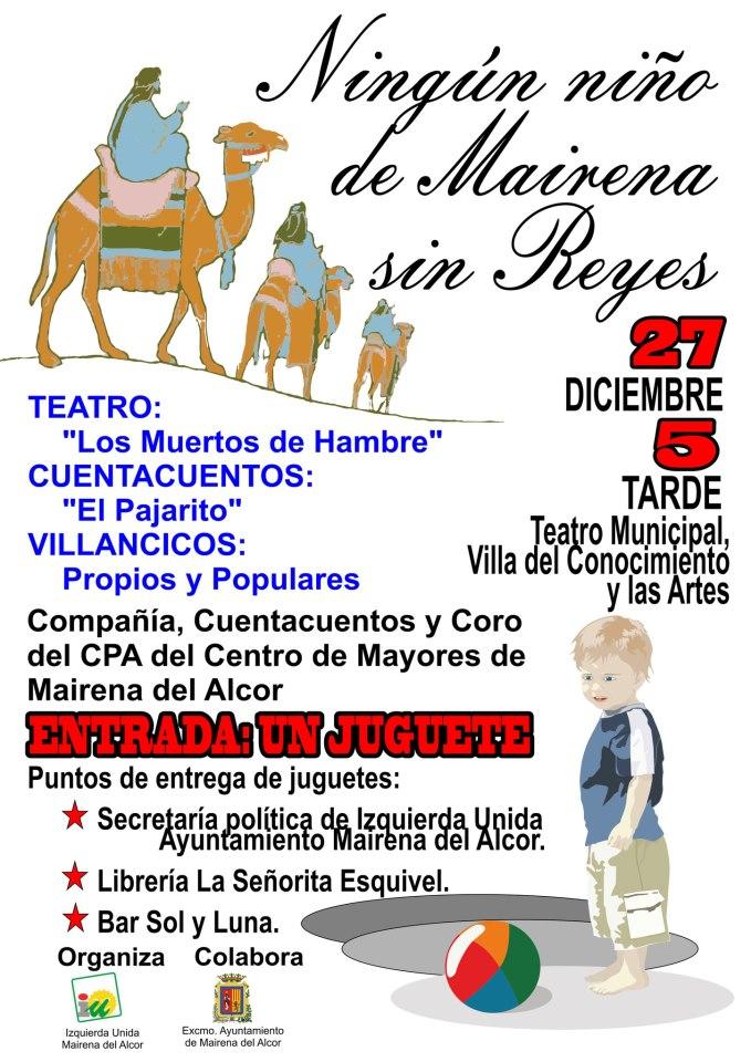 NINGÚN NIÑO DE MAIRENA SIN REYES (MAGOS)