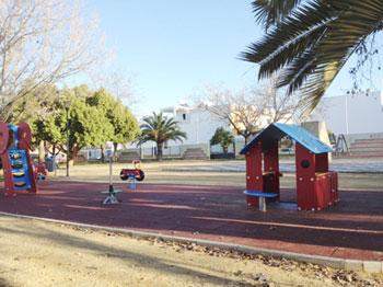 Juegos infantiles. Parque Ciudad de Bayamo.
