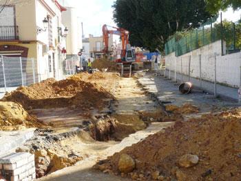 Obras Barriada San Bartolome Mairena del Alcor