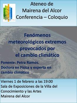 """""""Fenómenos meteorológicos extremos provocados por el cambio climático"""""""