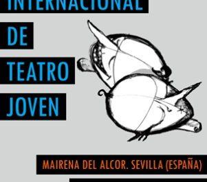 Cartel del II Encuentro Internacional de Teatro Joven