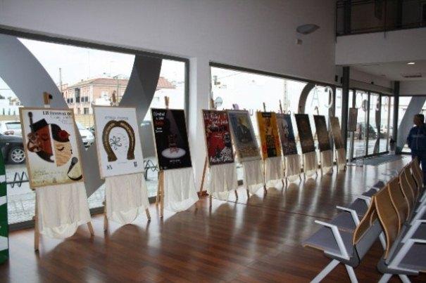 Exposición de obras para elegir el cartel del III Festival de Cante Jondo Antonio Mairena
