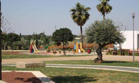 Zona de juegos infantiles del Parque Norte