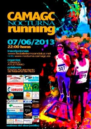 Cartel de la CAMAGC Nocturna Running