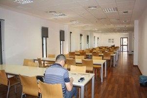 Sala de estudios de la Villa del Conocimiento y las Artes