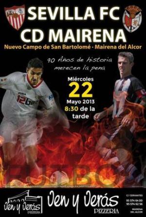 Cartel del CD Mairena-Sevilla FC