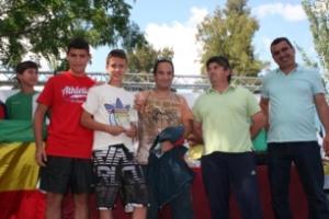 Entrega de los premios de los Juegos Deportivos Provinciales