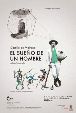 Cartel de la obra 'El sueño de un hombre'