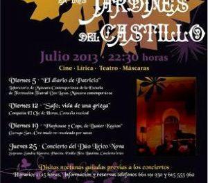 Cartel de la V edición de las Noches en el Castillo de Mairena del Alcor