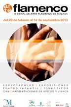 Cartel de la III Bienal del Arte Flamenco de Málaga