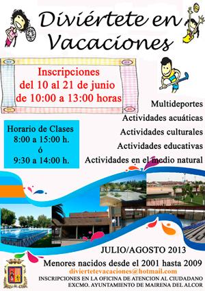 CartelDivierteteVacaciones2013