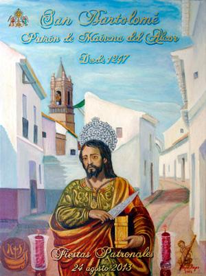 Cartel Fiestas patronales de San Bartolomé 2013