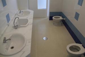 Nuevos baños construidos este verano en el Colegio San Bartolomé