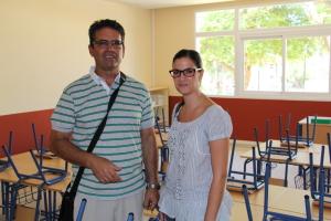 Colegio S_Bartolome_Gloria y el director