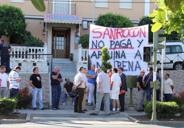Protestas proveedores Sanrocon_600