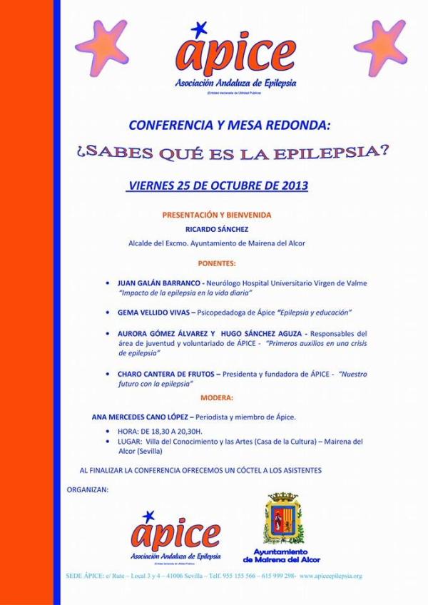 Conferencia sobre Epilepsia