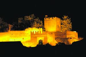 castillo noche