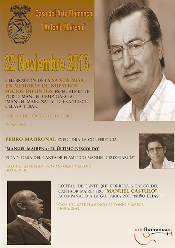 Recuerdo a Manuel Mairena