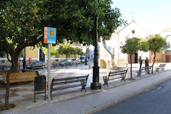 Bus nuevo _Parada Plaza Flores