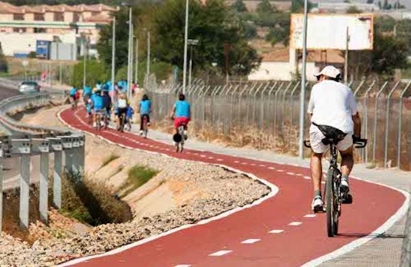 bici y carril bici