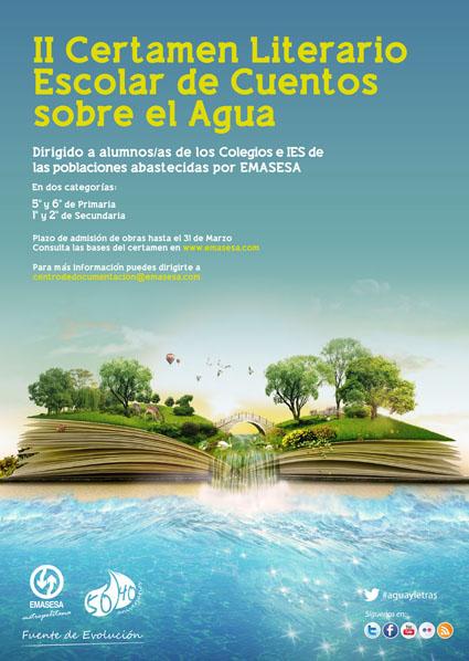 Cartel II Concurso Literario Infantil