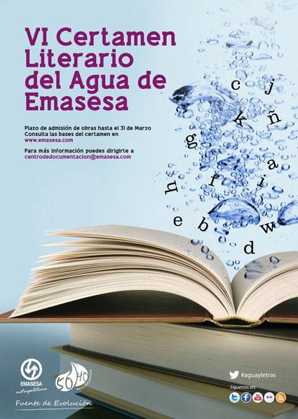Cartel VI Concurso Literario
