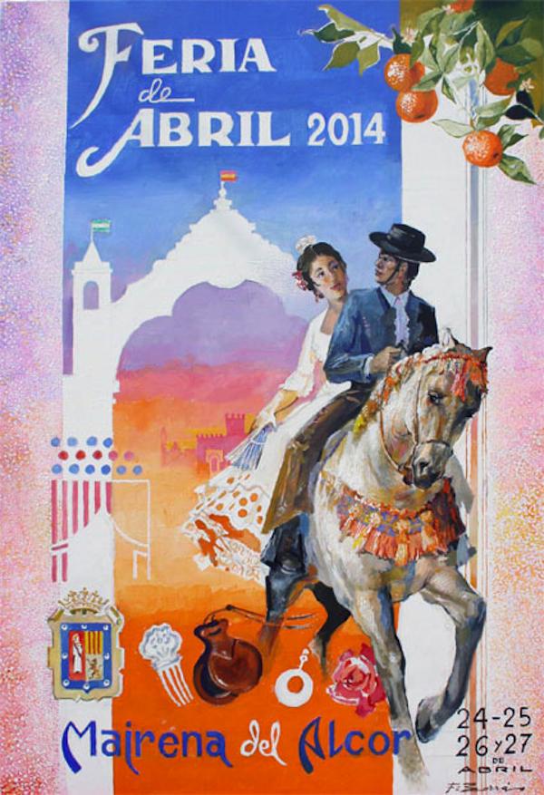 CartelFeriaAbrilMairenadelAlcor2014i