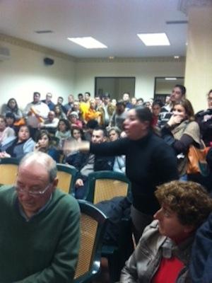 Reunion con delegado educación sede PSOE