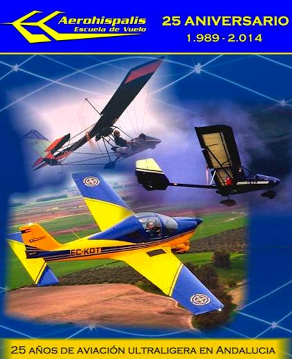 Aerohispalis 25 aniversario