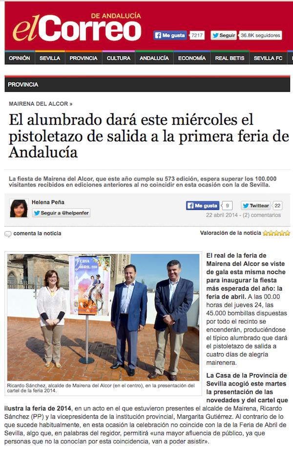 El correo Feria Mairena 2014_600