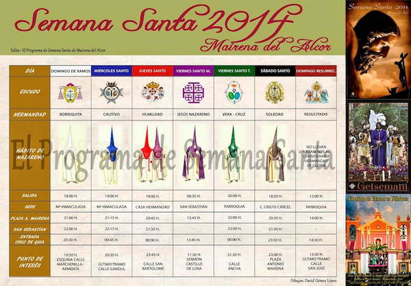 Programa Semana Santa Mairena 2014_600