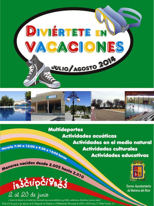 Cartel Diviertete en Vacaciones 2014_600