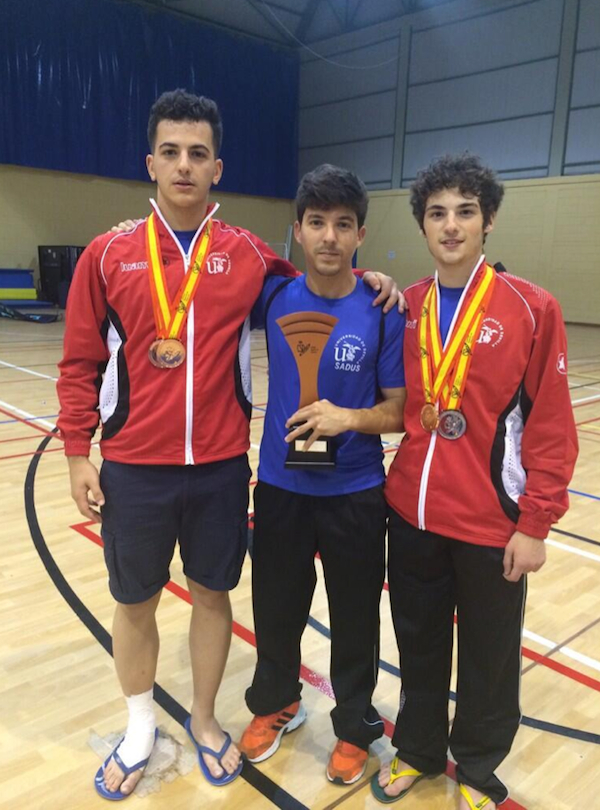 Medallas campeonato España Universitario Taekwondo