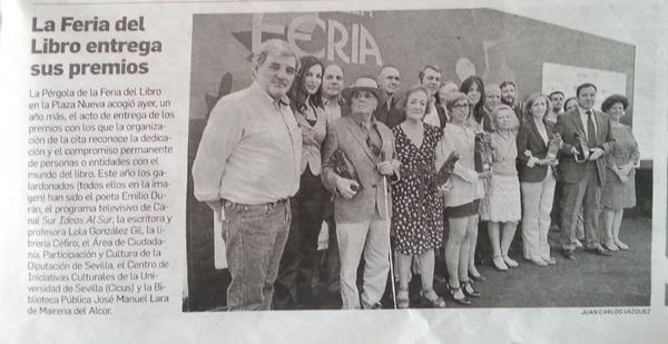 Noticia Premio Biblioteca Feria Libro Sevilla_600