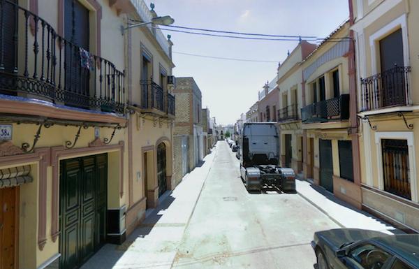 Tramo calle Pablo VI obras emasesa_600