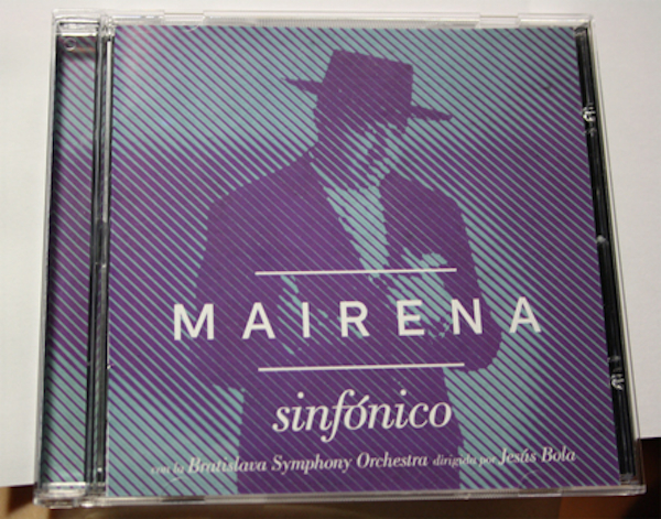 Disco orquestado de Antonio Mairena_Sinfónico_600