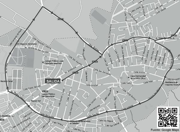 Mapa Vuelta Ciclista España por Mairena_600